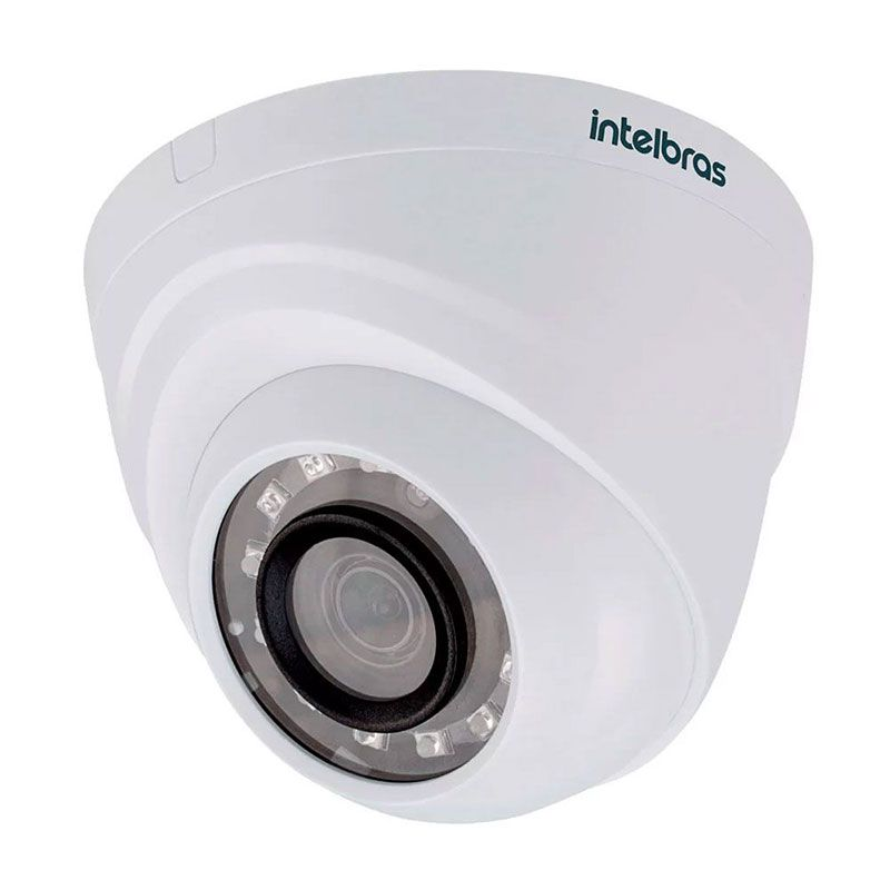 Câmera Dome Intelbras Infravermelho HD VHL 1120 D Hdcvi Lite 720p
