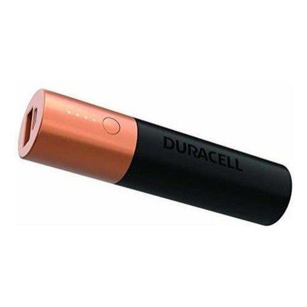 Carregador Portátil Power Bank Duracell USB 3350mAh 1x Carga