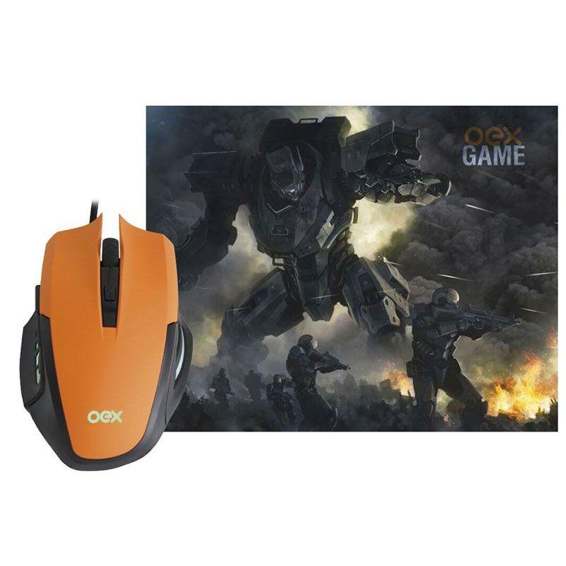 Combo Gamer OEX Clash MC-103 Mouse + Mousepad