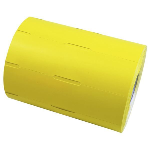 Etiqueta De Gôndola Amarela 110 X 30