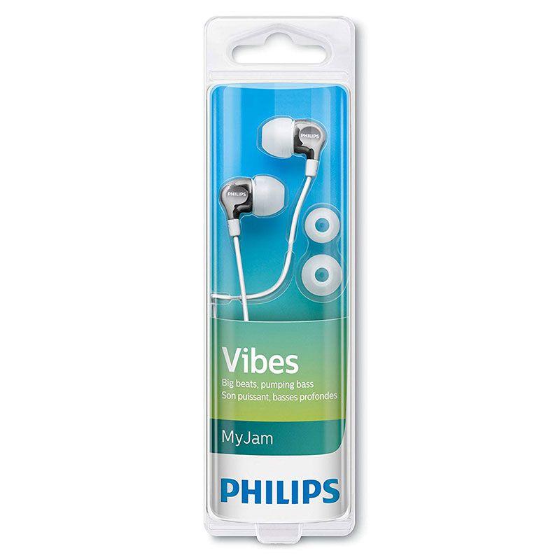 Fone de Ouvido Philips Intra Branco SHE3700WT/00