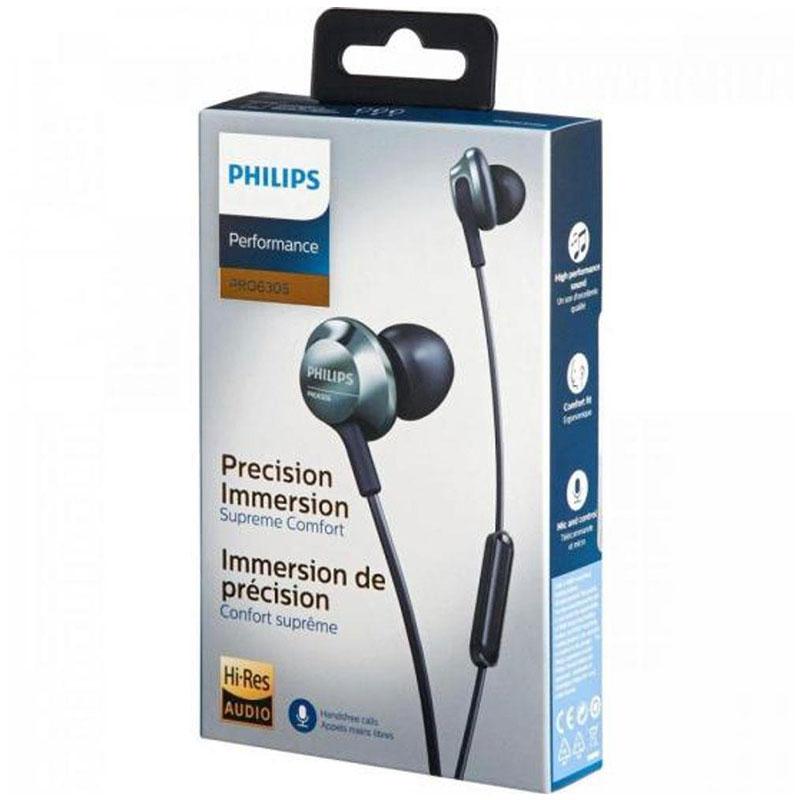 Fone De Ouvido Philips Intra PRO6305BK/00 Preto