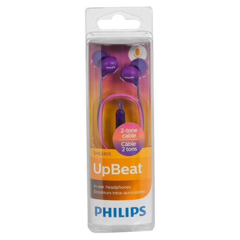 Fone De Ouvido Philips Intra SHE2405PP/00 Roxo
