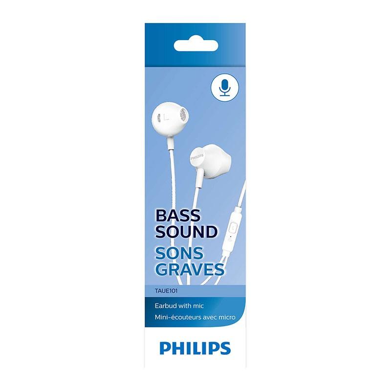 Fone De Ouvido Philips Intra TAUE101WT/00 Branco