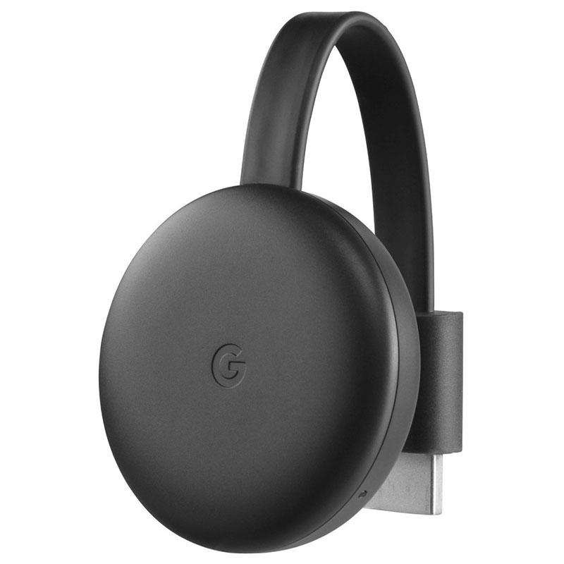 Google Chromecast 3 Full HDMI Full HD Preto