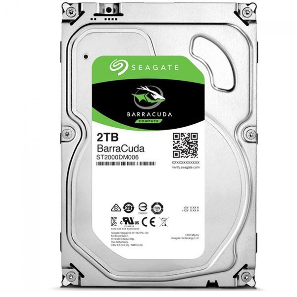HD Interno Seagate Barracuda 2TB 3.5? SATA III ST2000DM008