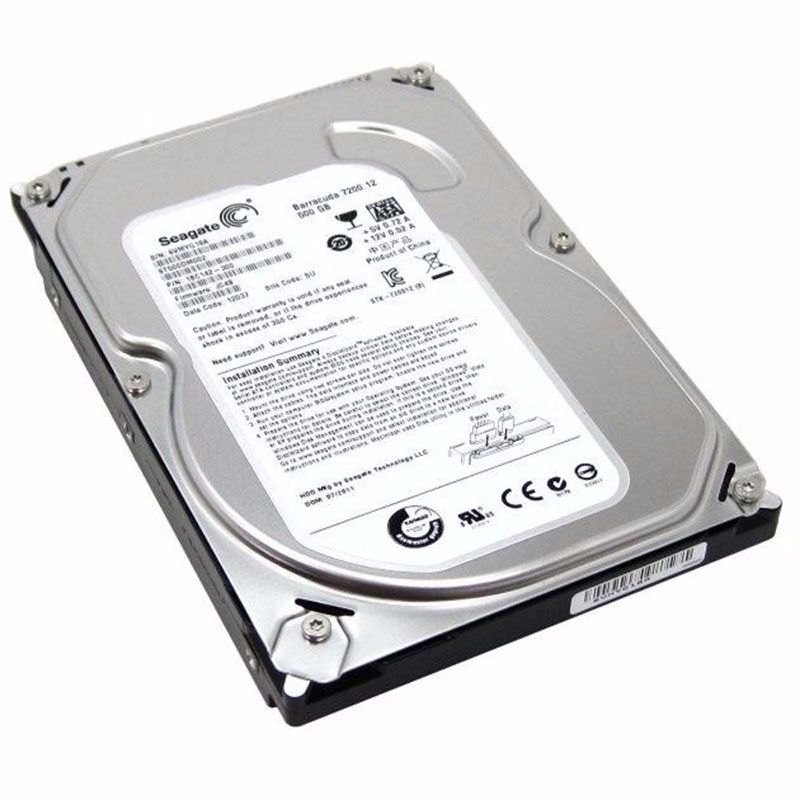 "HD Seagate Pipeline 500GB SATA II 3,5"" 8MB 5900RPM ST3500312CS"