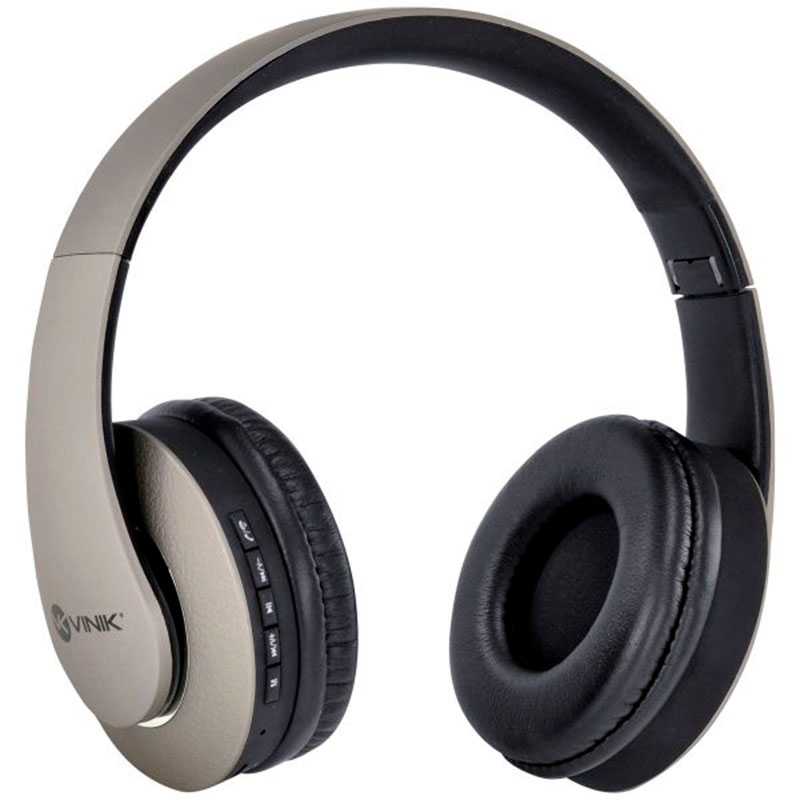 Headphone Bluetooth 4.2 Vinik Easy WH Cinza