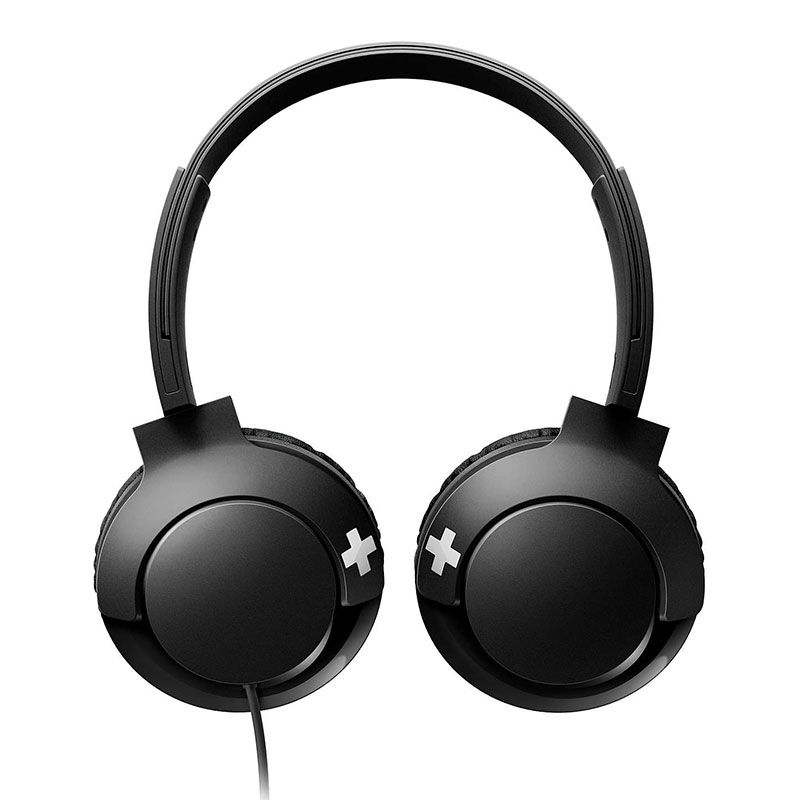 Headphone Philips Com Microfone Bass+ SHL3075BK/00 Preto