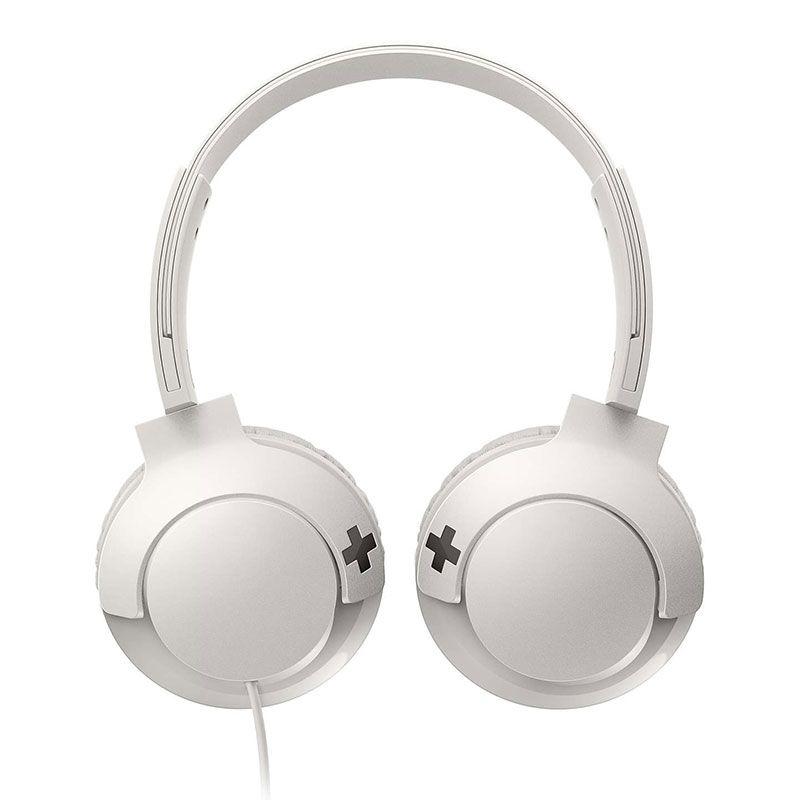 Headphone Philips Com Microfone Bass+ SHL3075WT/00 Branco