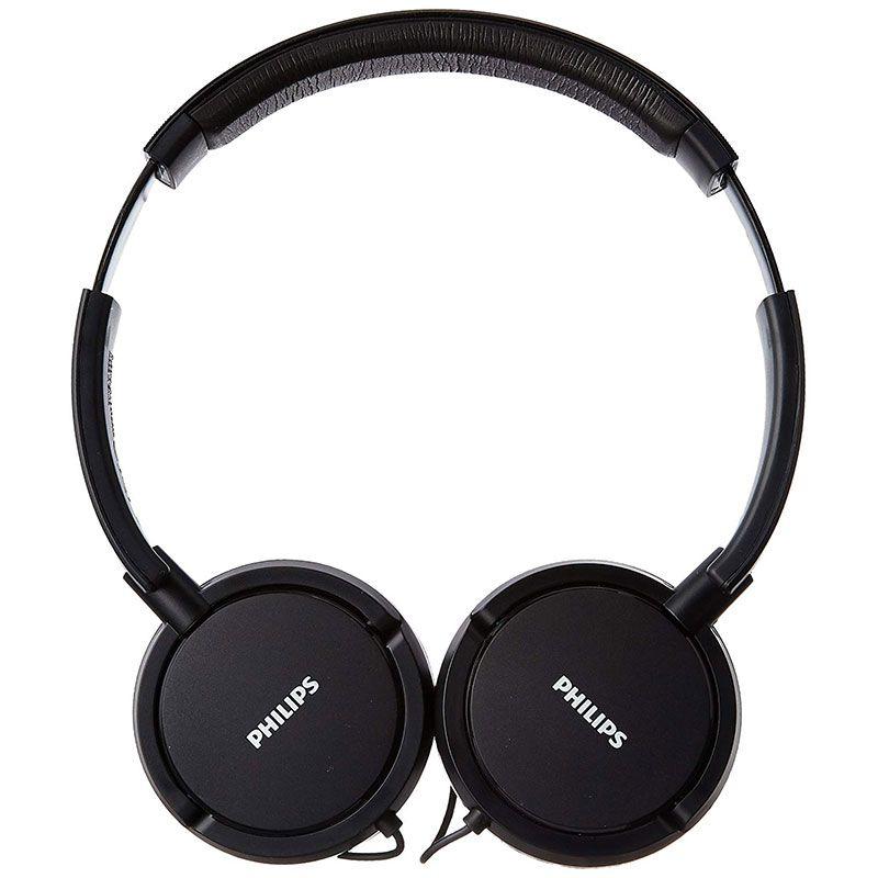 Headphone Philips Extra Bass Com Microfone SHL5005/00 PT