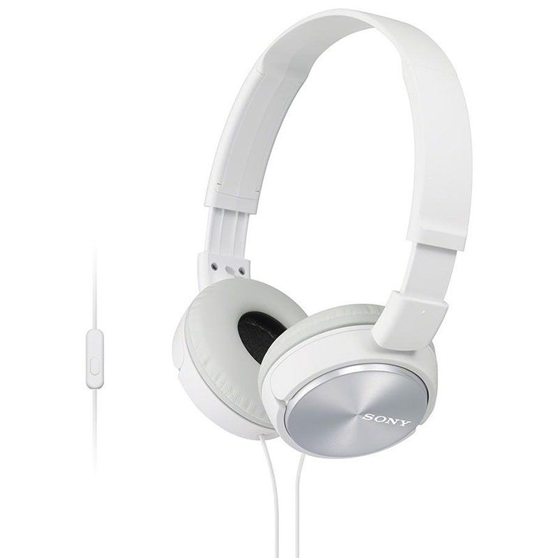 Headphone Sony com Microfone MDR-ZX310AP/W Branco