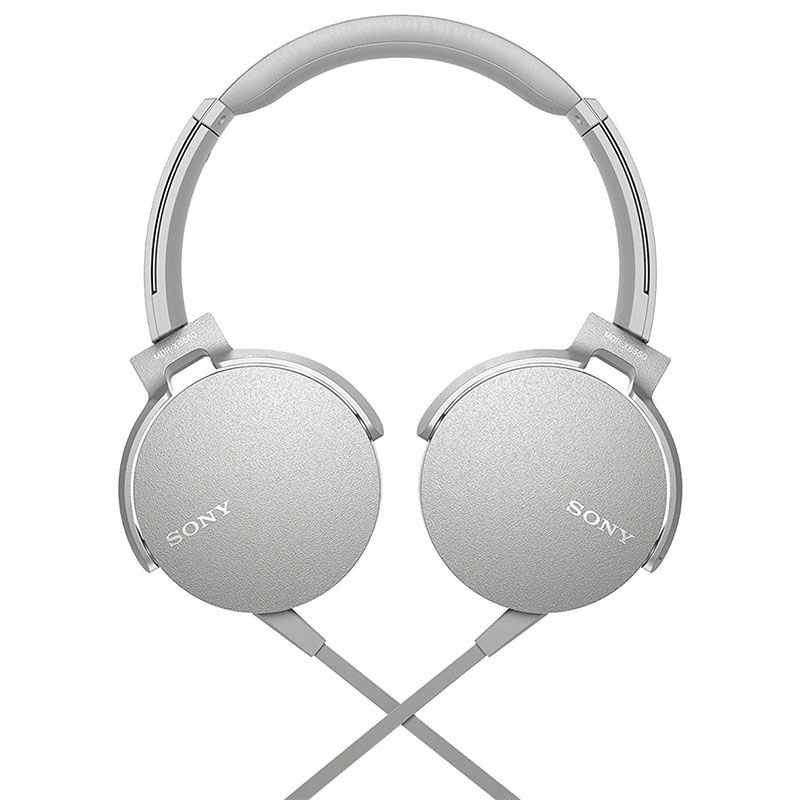 Headphone Sony  Mdr-xb550ap Extra Bass Branco