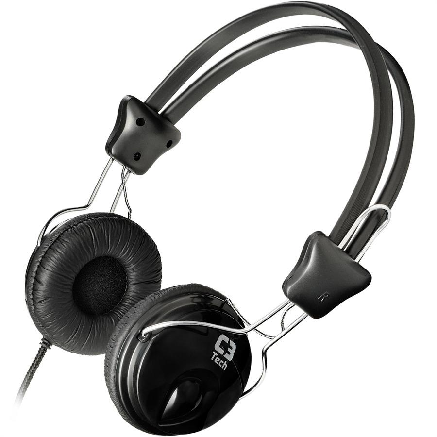 Headset C3 Tech Tricerix II PH-80BK Preto