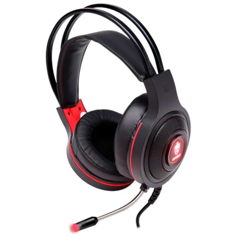 Headset Gamer Eg301GR Temis Evolut vermelho