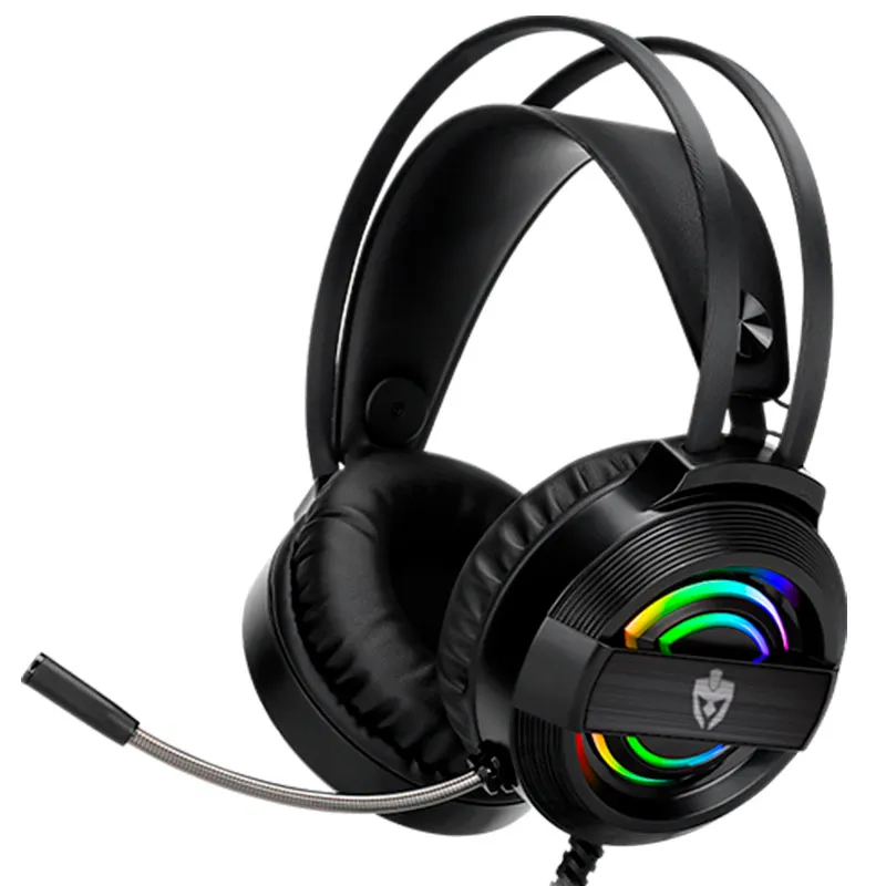 Headset Gamer Evolut USB EG320 Garen RGB Preto