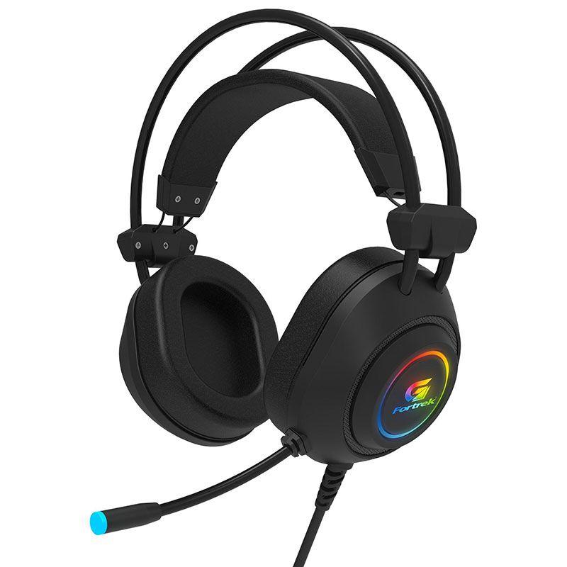 Headset Gamer Fortrek Crusader RGB Preto