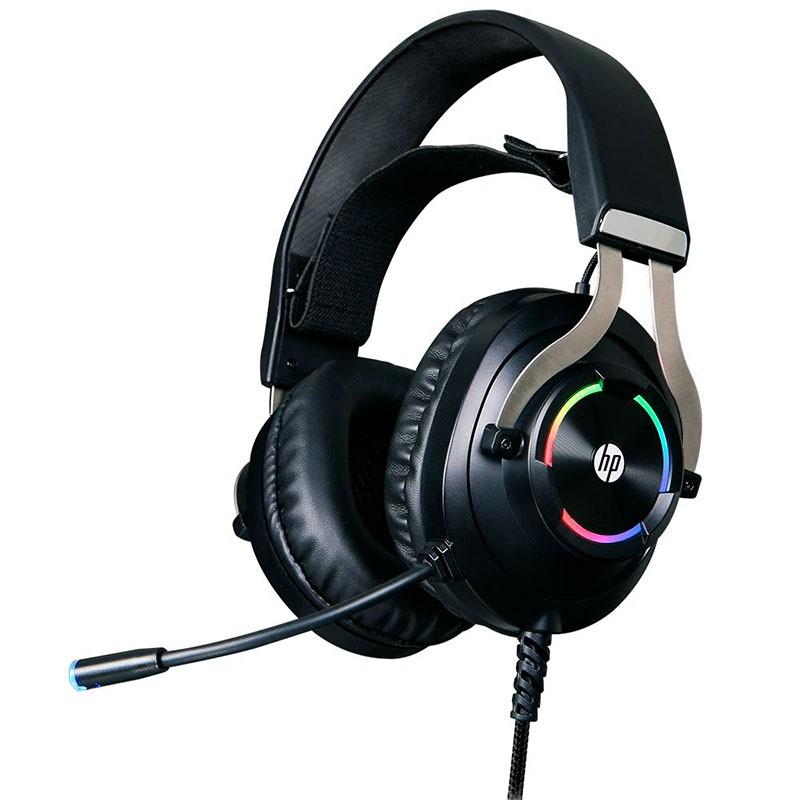 Headset Gamer HP 7.1 Virtual USB H360GS Preto