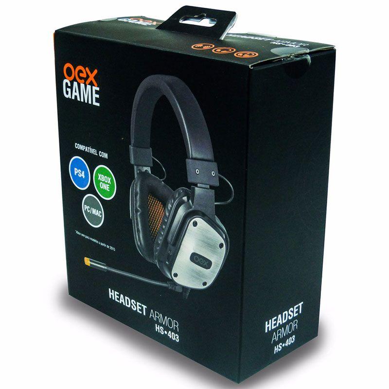 Headset Gamer OEX Armor HS-403