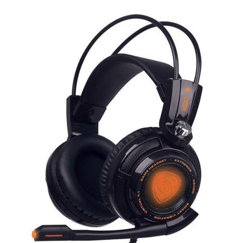 Headset Gamer OEX Extremor HS-400 7.1 Preto