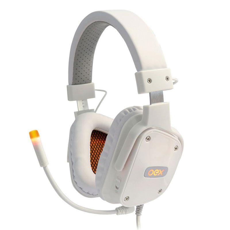 Headset Gamer OEX Shield HS-409 7.1 Branco
