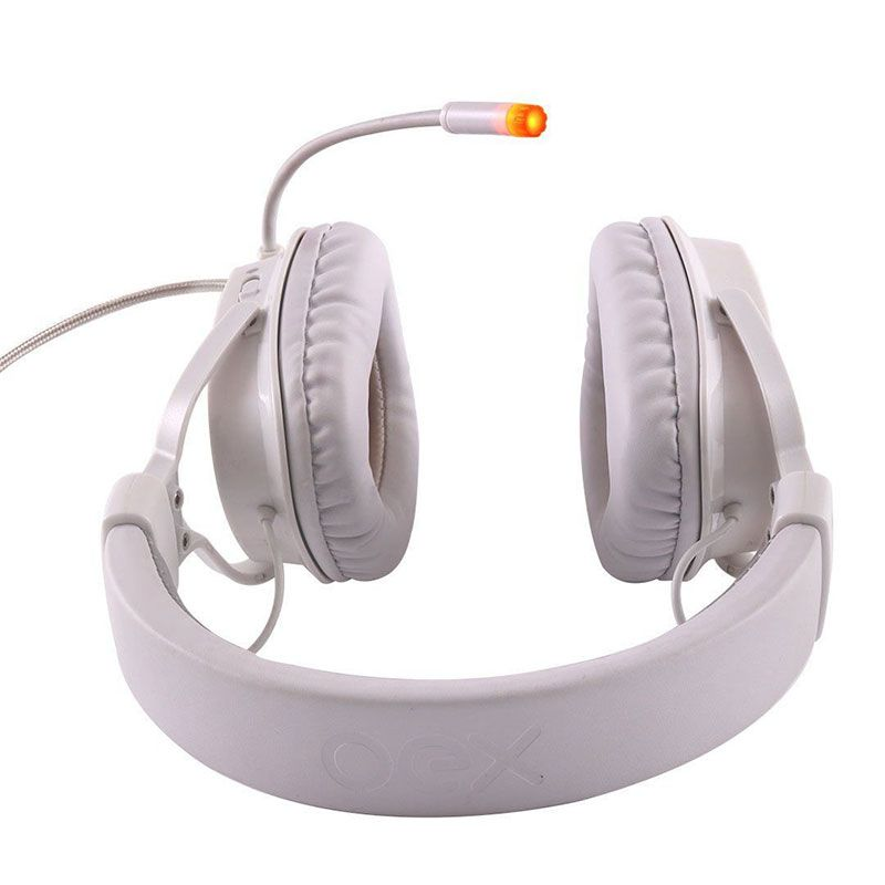 Headset Gamer OEX Shield HS-409 7.1 Branco