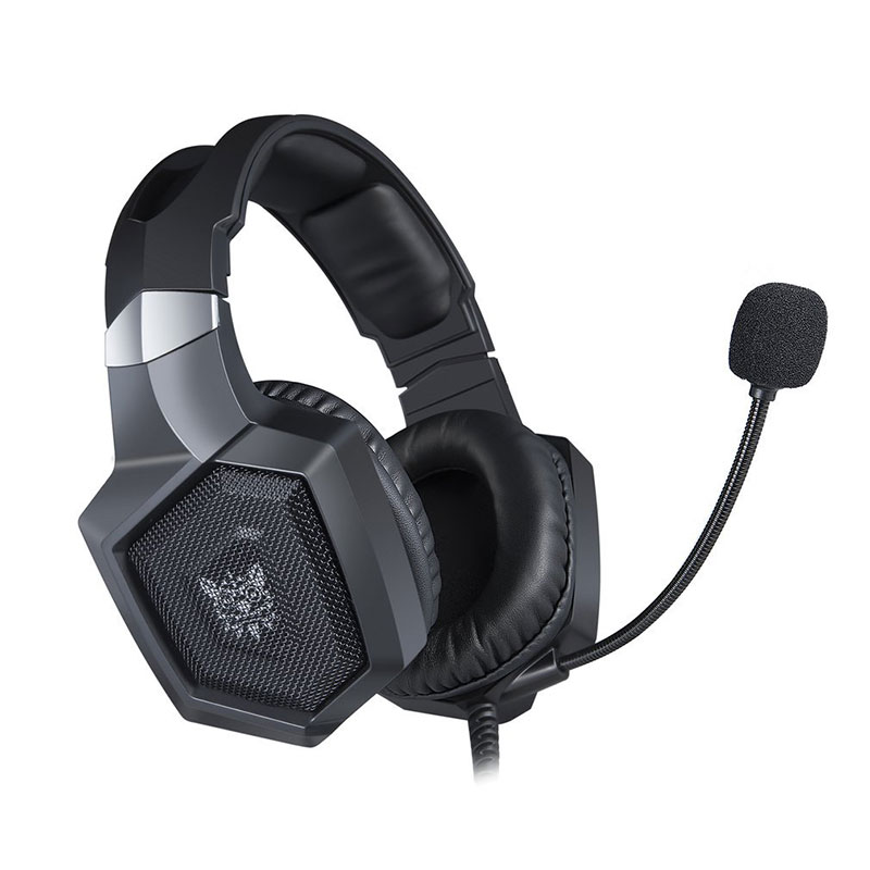 Headset Gamer Onikuma K8 Preto RGB PS4, XBOX e PC