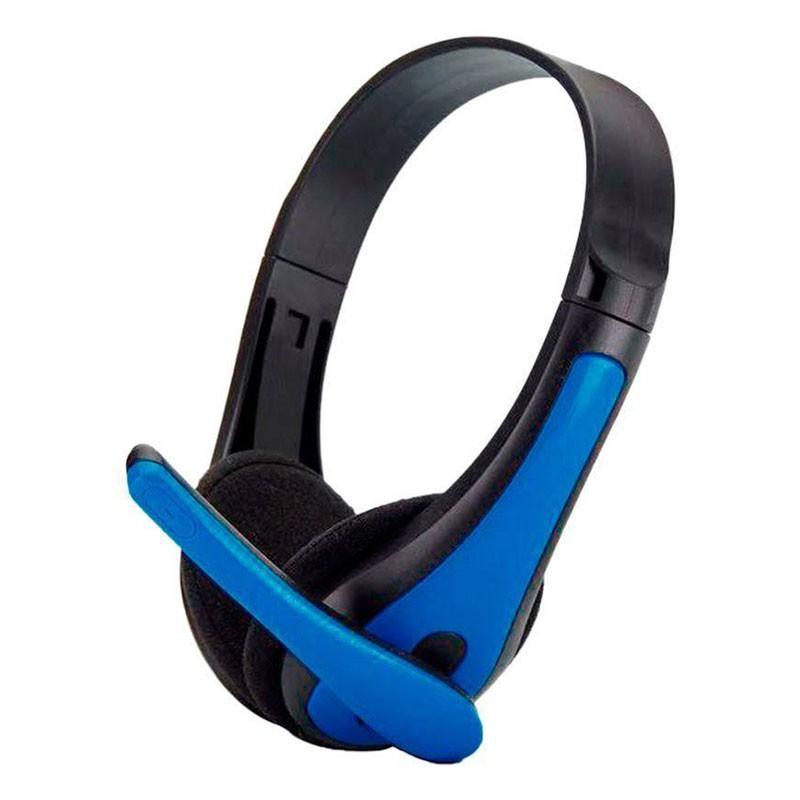 Headset Gamer TecDrive F-6 Azul