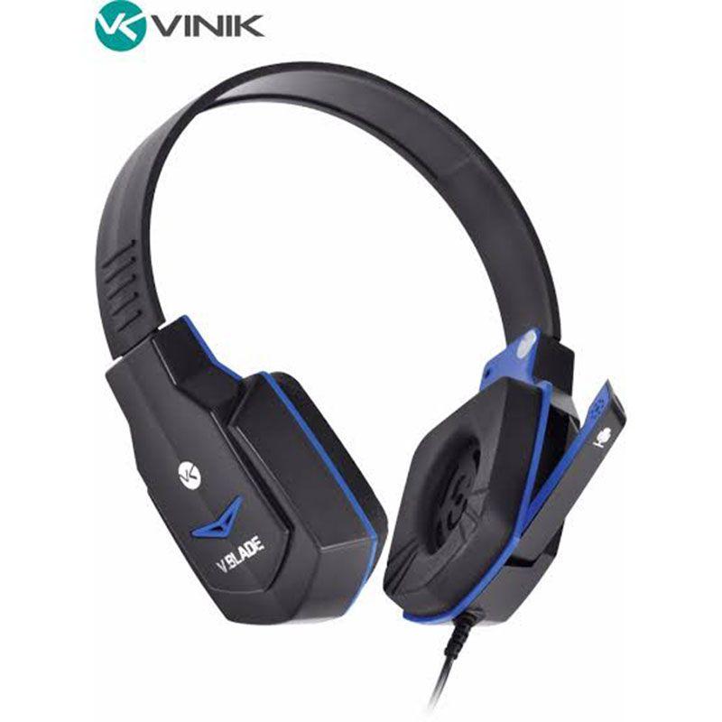 Headset Gamer Vinik V Blade Linha VX Preto e Azul