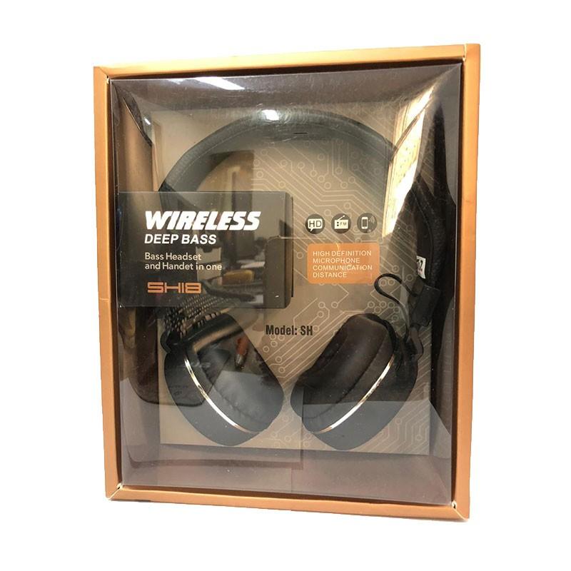 Headset SH18 Deep Bass Wireless 7&7 Rosa