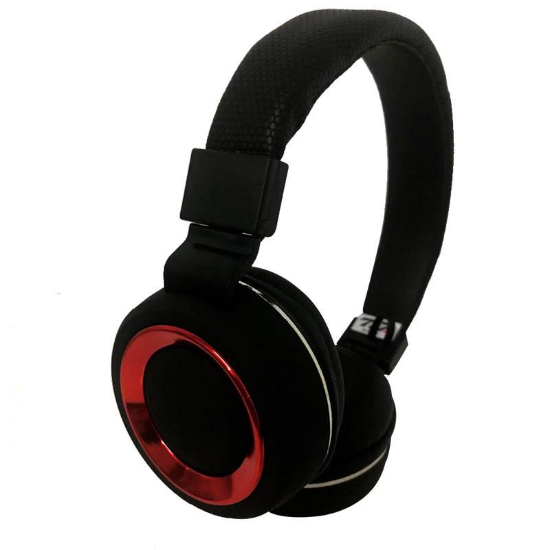 Headset SH18 Deep Bass Wireless 7&7 Vermelho