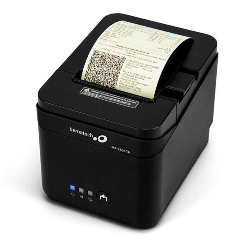 Impressora de Cupom Bematech MP-2800 TH Guilhotina USB Serial Ethernet