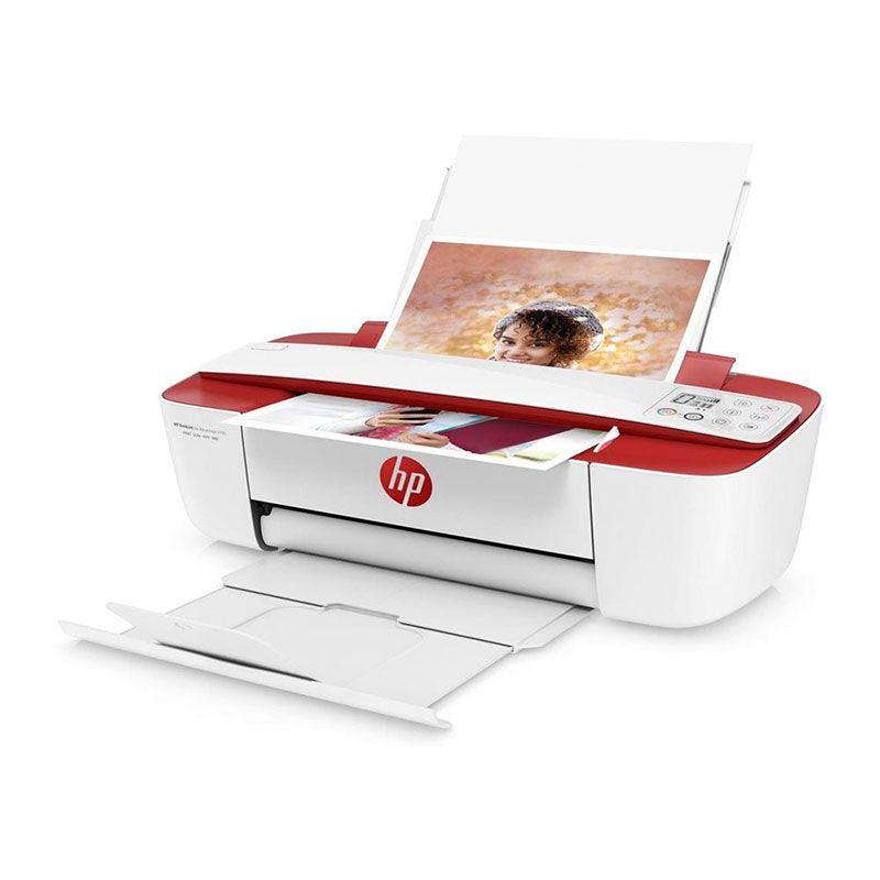 Impressora Multifuncional Hp Deskjet Ink Advantage 3786 Vermelha
