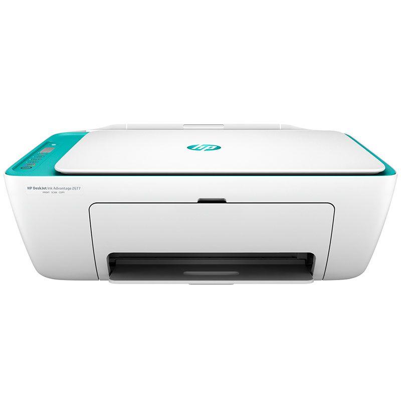 Impressora Multifuncional HP Jato de Tinta Deskjet Ink Advantage 2676 Wireless Colorida Bivolt Y5Z00A