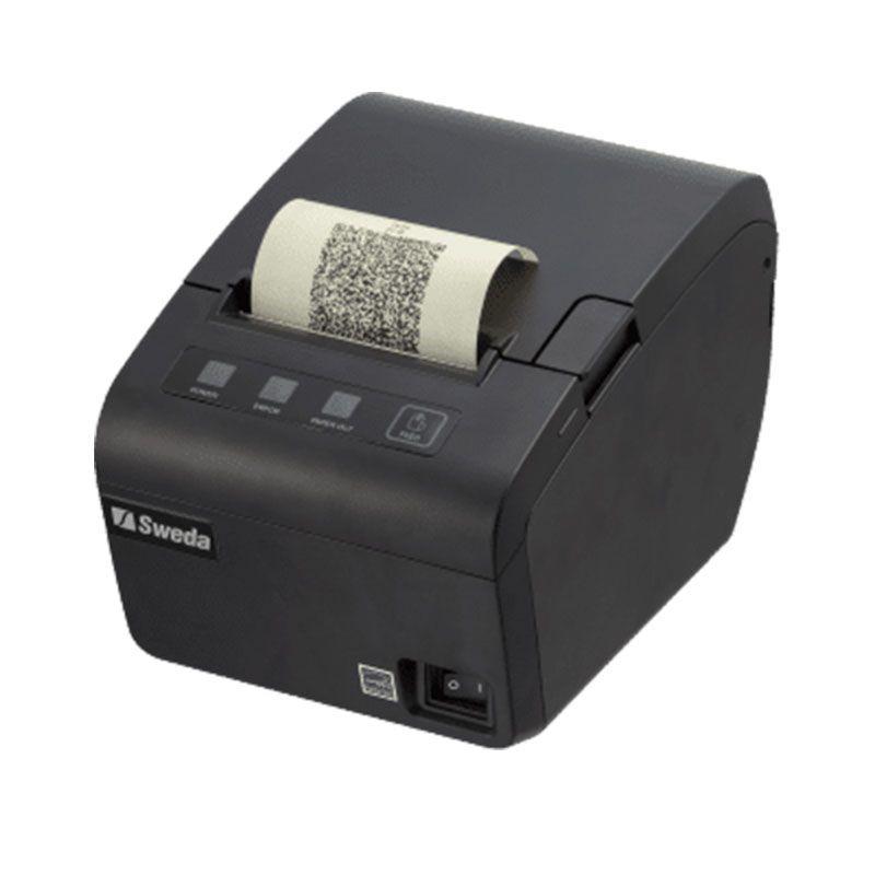 Impressora Térmica Sweda SI-300S Não Fiscal Guilhotina, USB, Serial, Ethernet