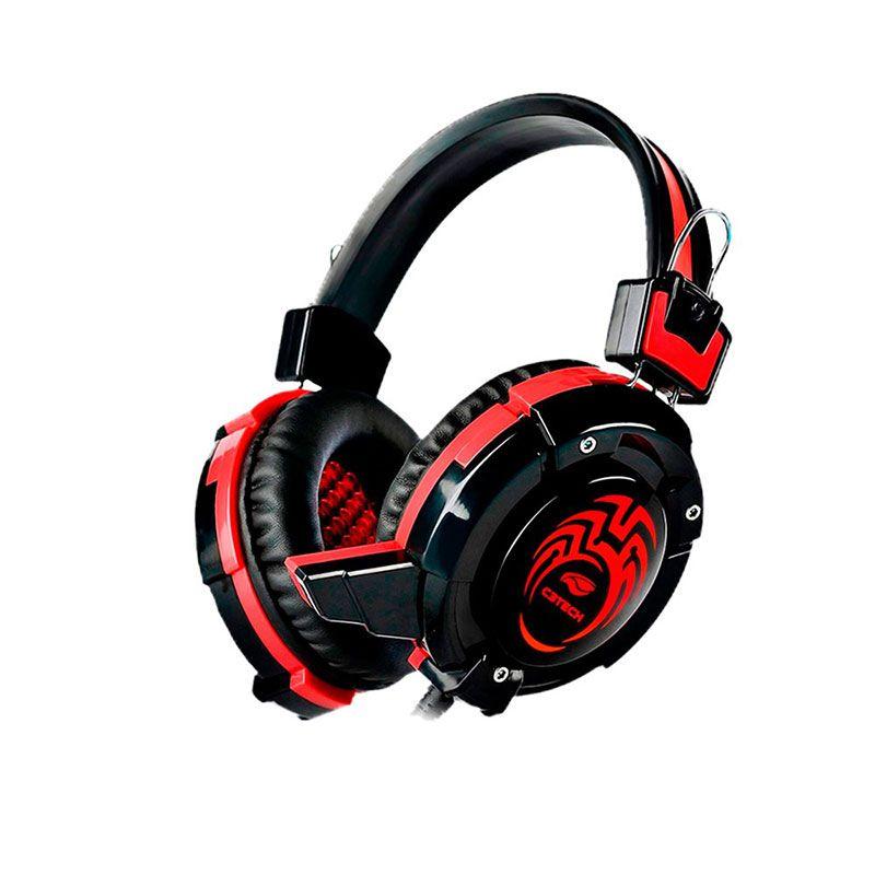 Kit Gamer C3 Tech Teclado, Mouse e Headset GK-100BK