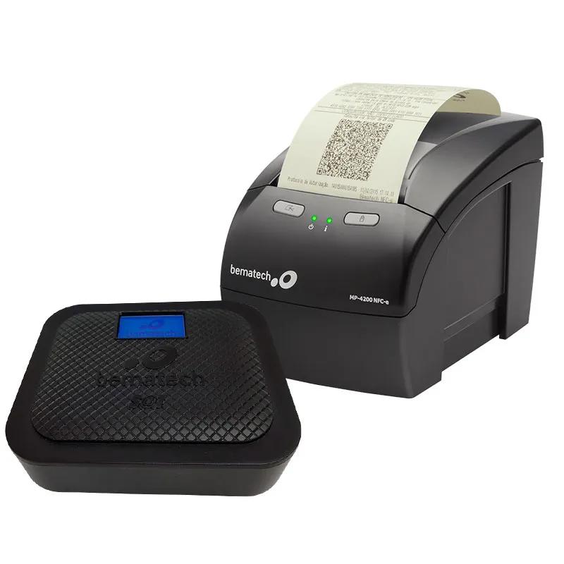 Kit Sat Fiscal Bematech SatGo Com Display Gráfico + Impressora Bematech Não Fiscal Mp-4200 Th Guilhotina
