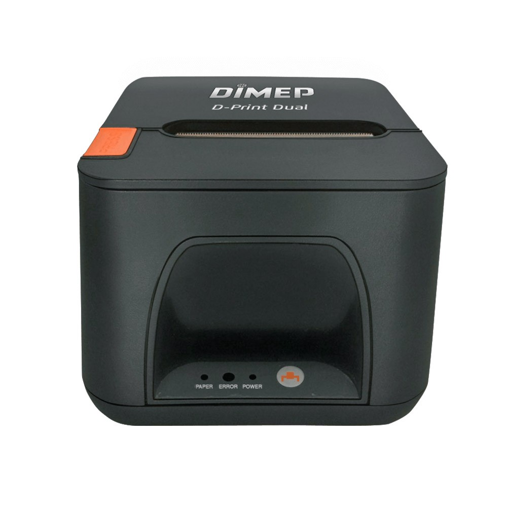 Kit Sat Fiscal Dimep D-Sat 2.0 + Impressora Térmica Dimep D-Print Dual Guilhotina USB e Ethernet