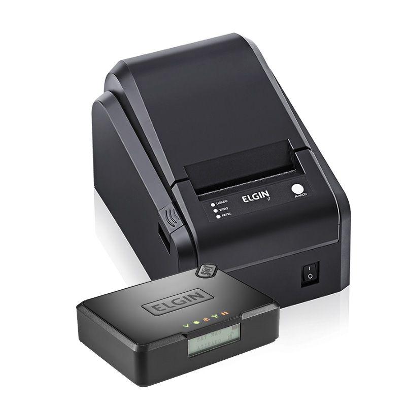 Kit Sat Fiscal Smart sat + Impressora de Cupom Térmica Elgin I7