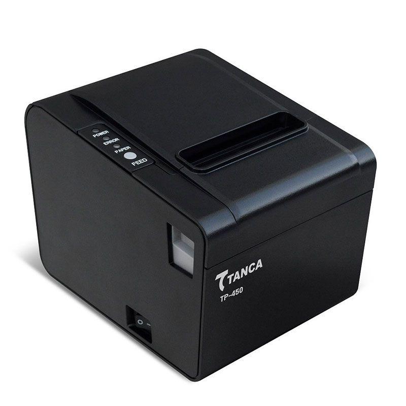 Kit SAT Fiscal Tanca TS-1000 + Impressora de Cupom Térmica TP-450 (Serrilha/USB/Serial/Ethernet)