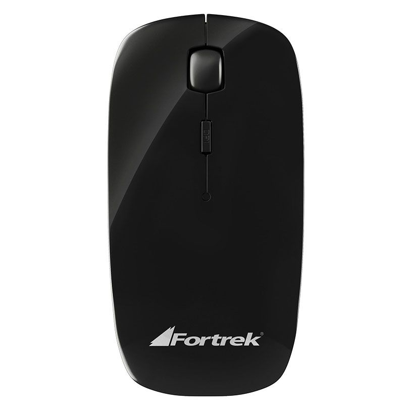 Kit Teclado e Mouse Wireless Fortrek WCF-102 Preto