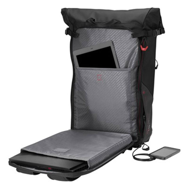 "Mochila HP Pavilion Rolltop Para Notebook 15,6"" Preta"
