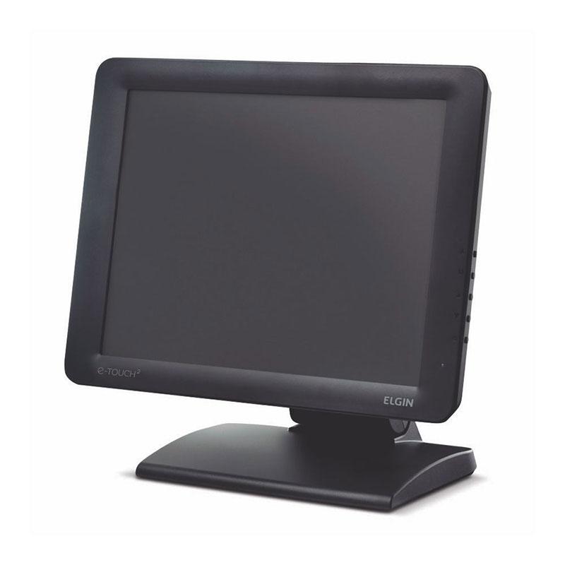 "Monitor Touch Screen Elgin 15"" E-Touch 2 Capacitivo"