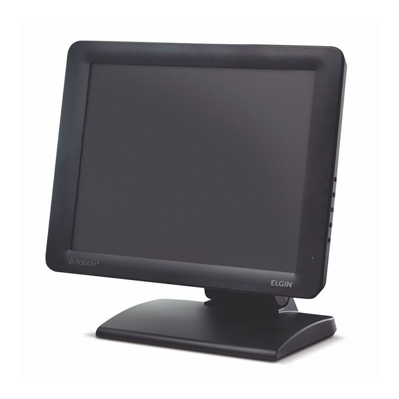 "Monitor Touch Screen Elgin 15"" E-Touch 2 Capacitivo"