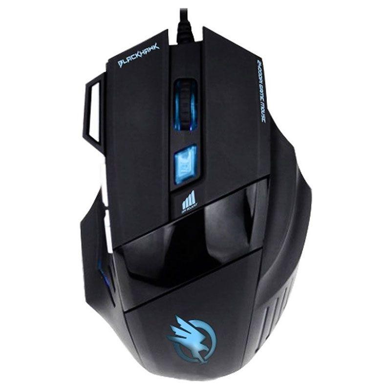 Mouse Gamer Fortrek Black Hawk Om-703 2400 Dpi
