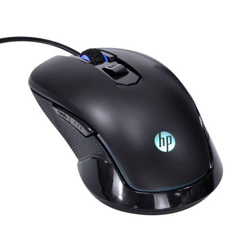 Mouse Gamer HP 2400 DPI M200 Preto