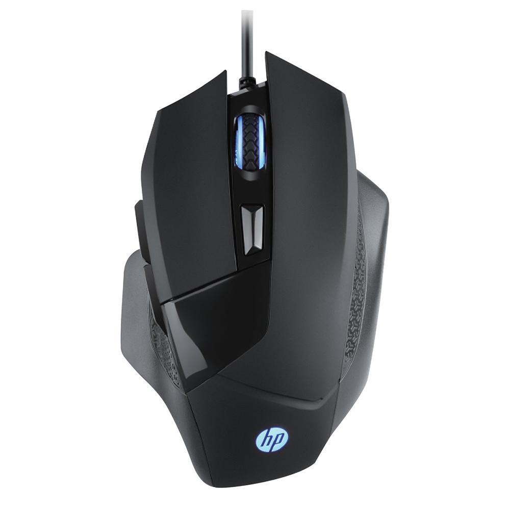 Mouse Gamer HP G200 Sensor Avago 3050 6 Botões 4000DPI Preto