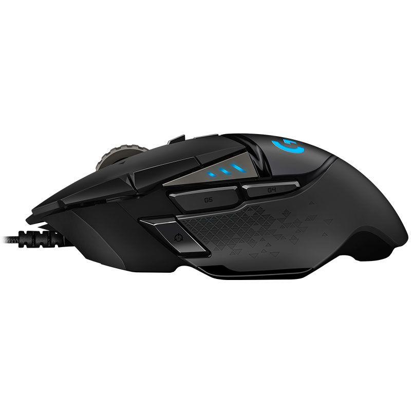 Mouse Gamer Logitech G502 Hero 16000Dpi RGB Lightsync