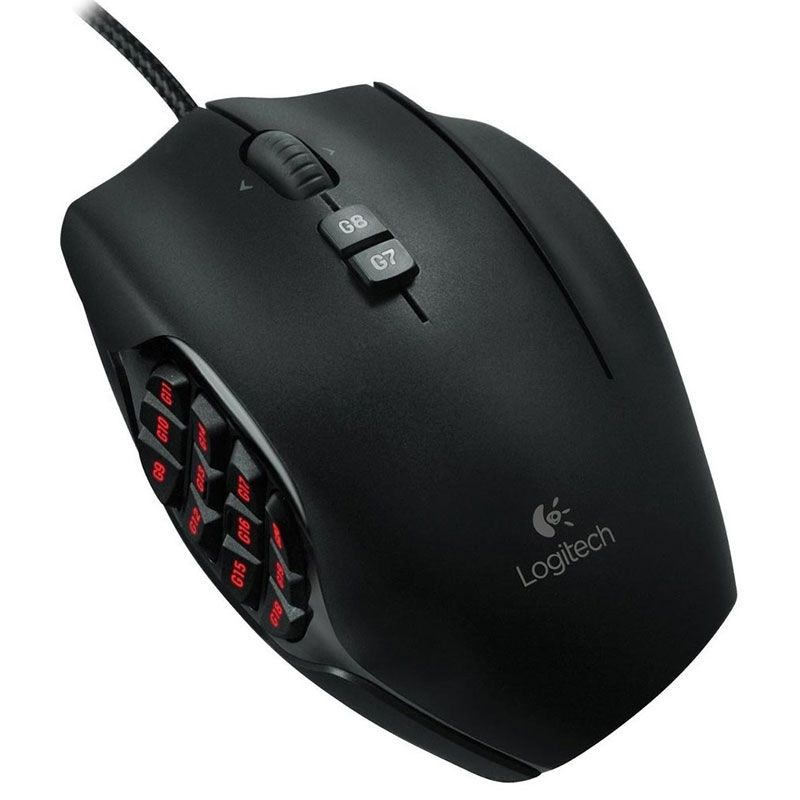 Mouse Gamer Logitech G600 Mmo Usb Rgb 8200dpi