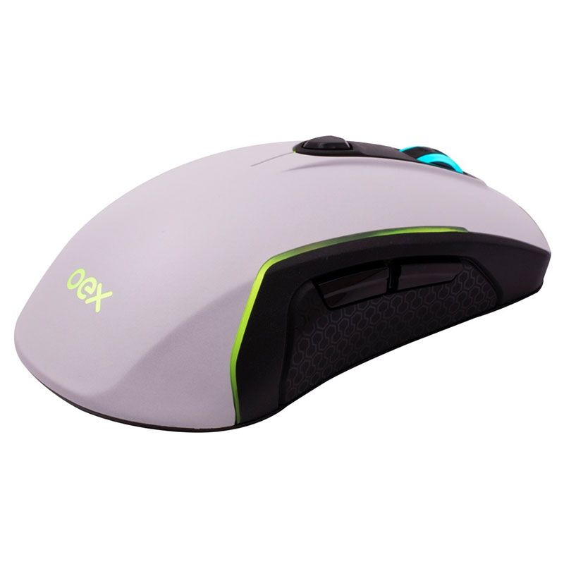 Mouse Gamer OEX Artic MS-316 USB 10.000 DPI